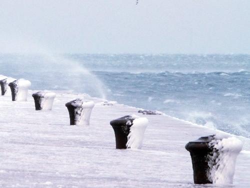 il vento la bora di Trieste